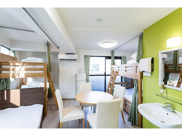 【RiniaHostel-Nagoya】5-Person Room