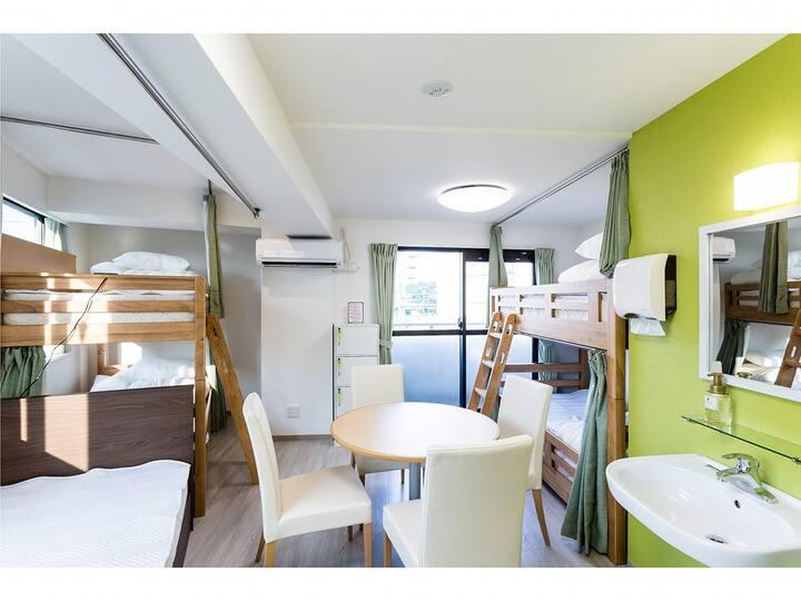【RiniaHostel-Nagoya】5-Person Room