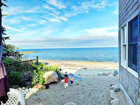 Вінтерфелл - прекрасний пляжний будинок (приватний пляж!)