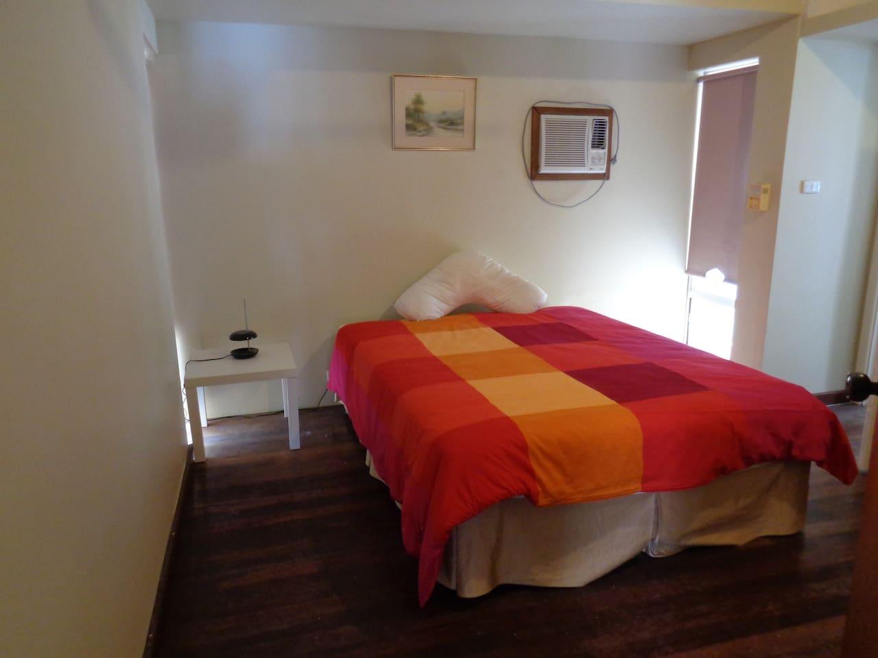 2 queen size bedrooms