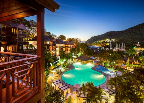 Marigot Bay Resort - All Inclusive One Bedroom Bay View Residence