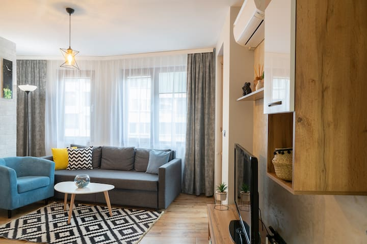 Joy apartment Burgas Center+Free parking #New