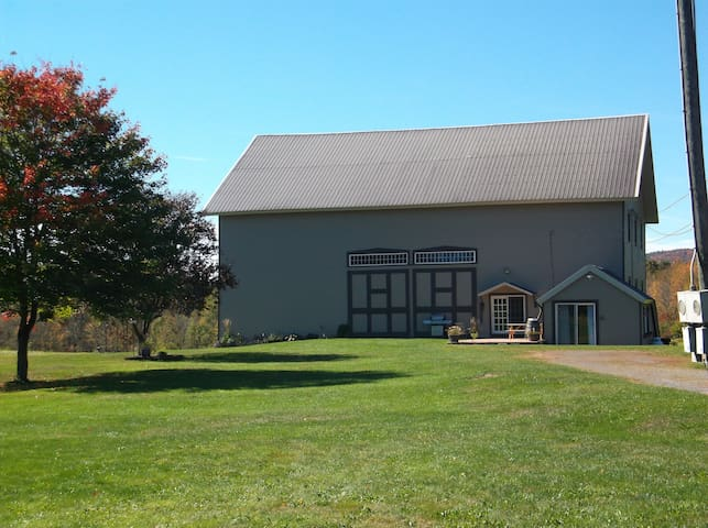 converted barn home-pet friendly !