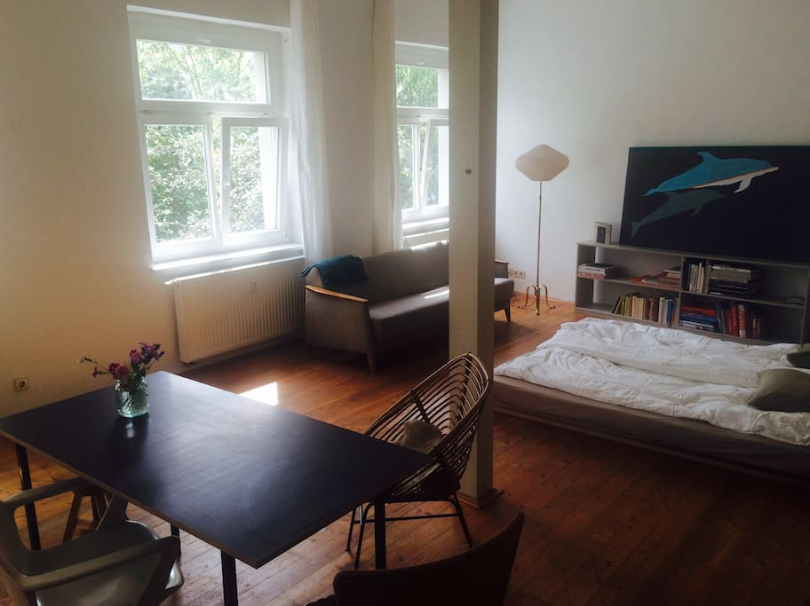STUDIO APARTMENT green quiet fortable central Lofts