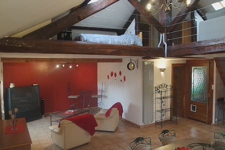 Loft portes de Lyon et du Beaujolais - Albigny-sur-Saône - Loteng Studio