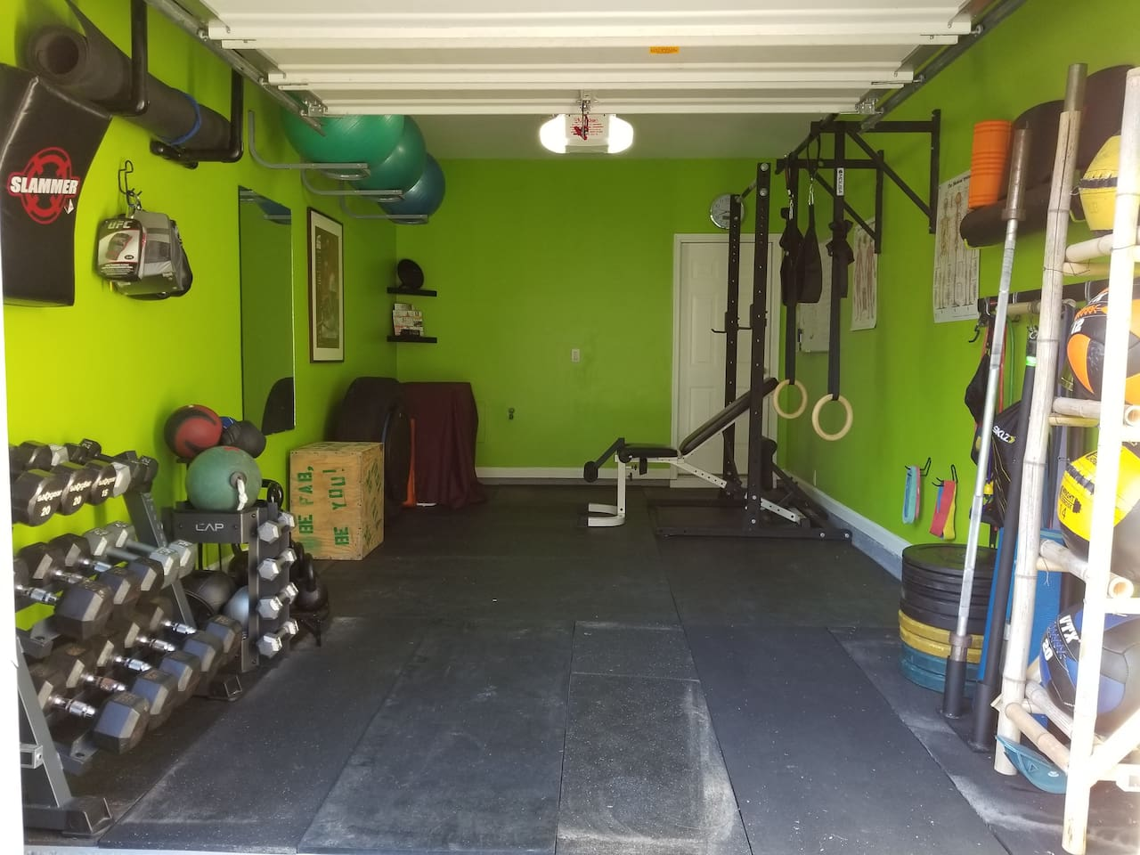 Gym: $10/pp/day or $15/2pp/day