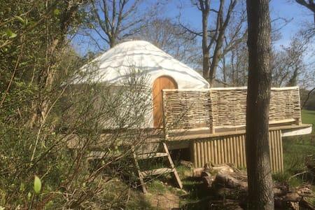 Romantic Yurt for 2 NOW OPEN WINTER - Michaelchurch Escley