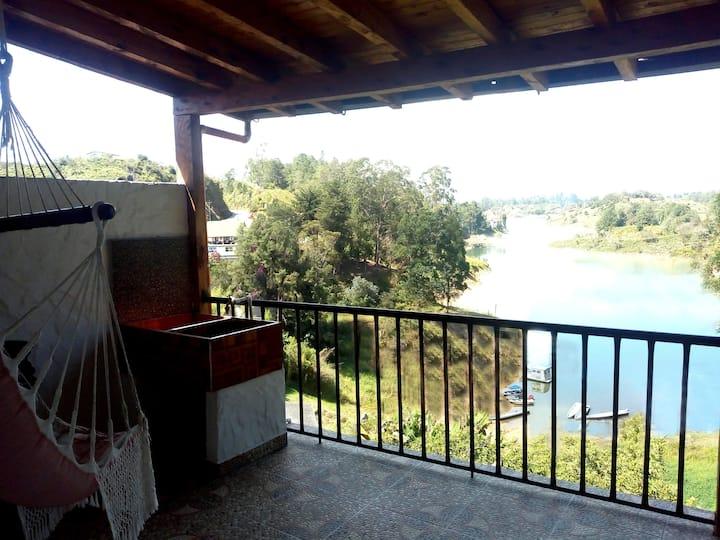 Apartamento para 8 personas en Guatapé (Antioquia)