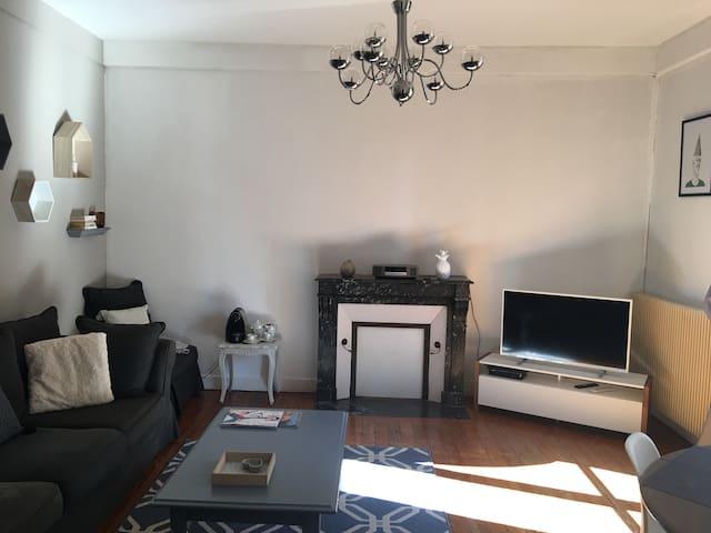 Appt centre ville 83m2 - 2 chambres 2 balcons - Le Mans - Apartamento