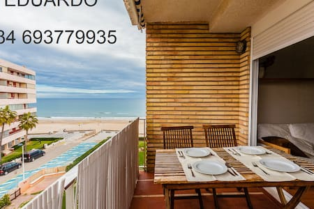 Amazing apartment at the beachfront - Mareny Blau - SUECA - Apartemen