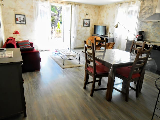 to the Camargue, superb furnished, air conditioned
