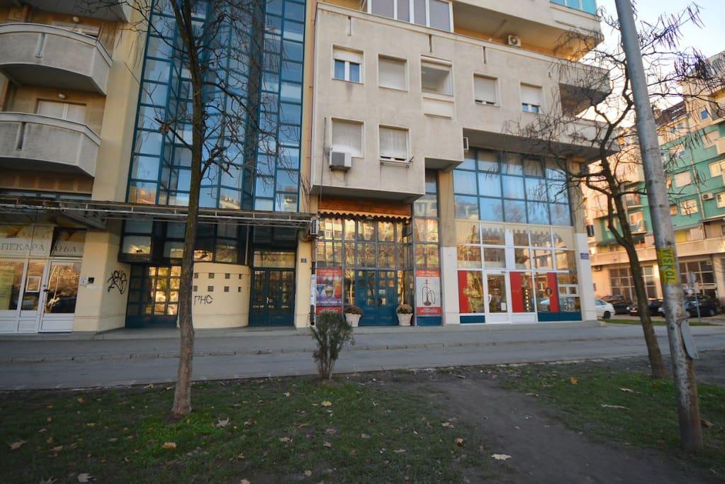 Корнелија Станковића 11, Нови Сад