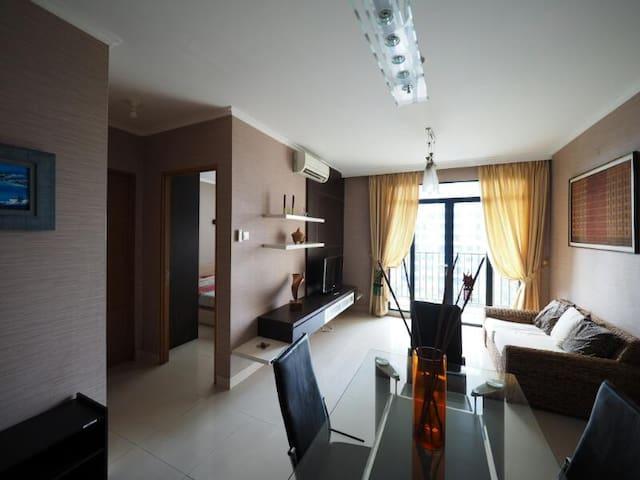 2-BR Apartment in Pondok Indah Area (chez Ida)