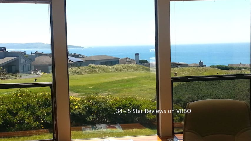 Bodega Bay Home on Golf Course with Ocean Views - Bodega Bay - Huis