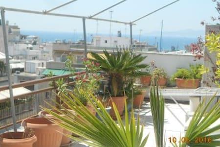 beautiful & spacious central appt - Pireas - 公寓