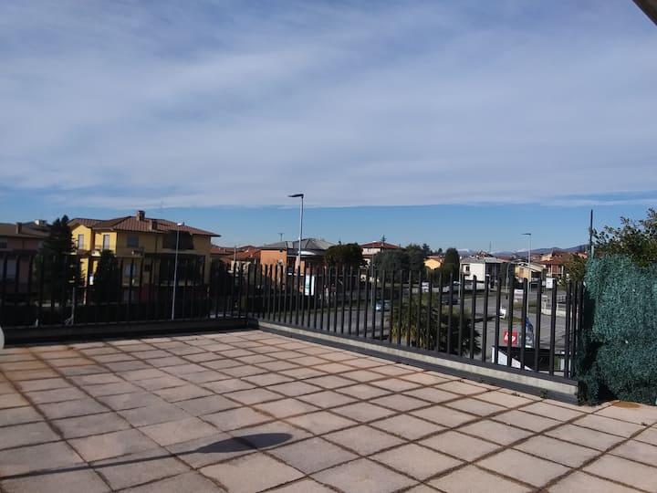 Appartamento attico con terrazzo