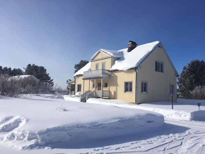 Big house for family close to Arctic Circle!