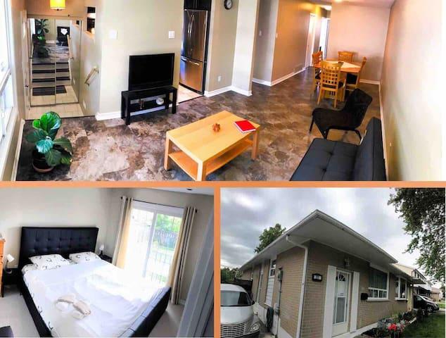 Modern & Fresh 3bdrm  Home Cozy & Functional