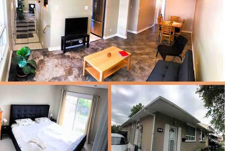 ✅Modern & Fresh 3bdrm  Home Cozy & Functional ✈️ 🅿️🐕