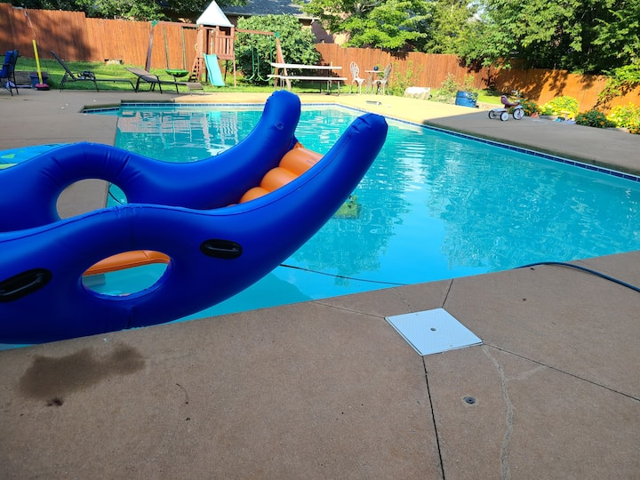 Home with pool