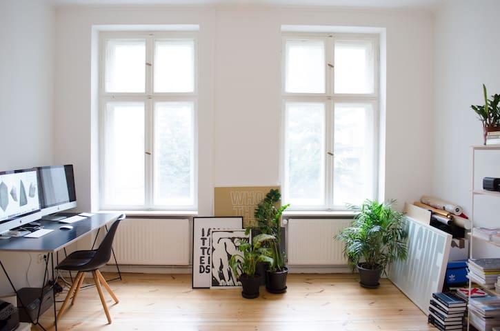 Minimal private room in hip Schillerkiez