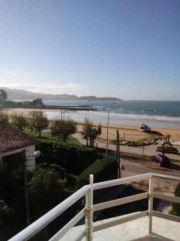 Alojamiento encima de la playa