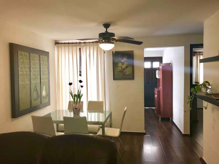 Private 2 bedroom Apt C in the heart of Cancún