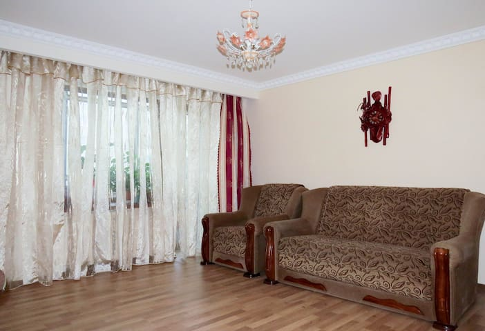 Three-room oasis overlooking the Arena-Lviv! WIFE