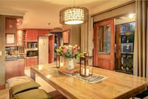 diningroom and kitchen