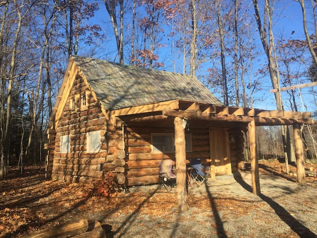 Red Pine Log Cabin