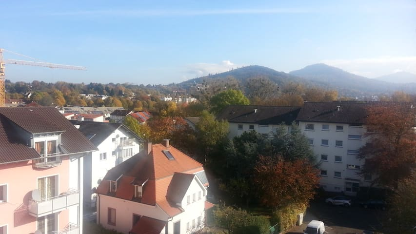 Ruhige 4-Zimmer Wohnung mit Nähe zur City - Baden-Baden - Apartment