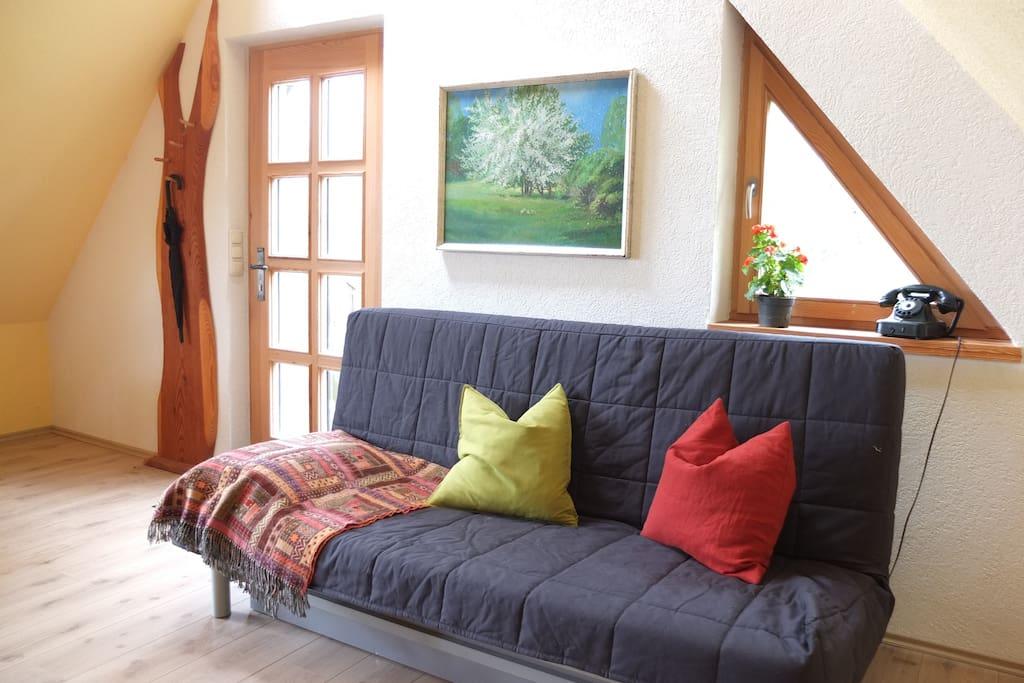 Eingang zum Wohnzimmer