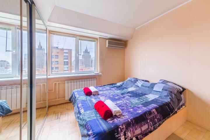 Номер с двуспальной кроватью в самом сердце Москвы - Moskva - Bed & Breakfast