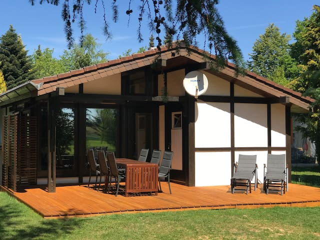 Urlaub im Odenwald - Gesamtes Ferienhaus Robinson