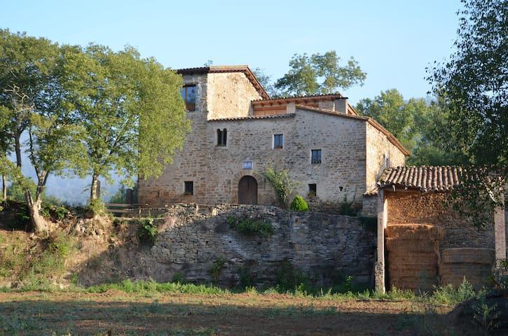 CASTELL DE ROCA - Sant Miquel de Campmajor - Talo