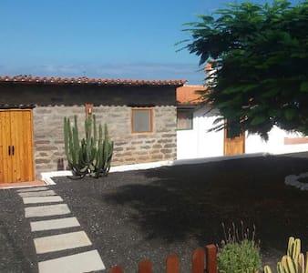 Acogedora cabaña rural con vistas - Lomo Blanco