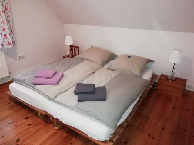 nice simple guest room in scheeßel