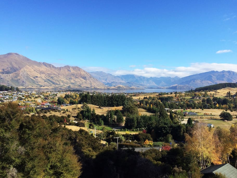 There aren't many views better than this in Wanaka