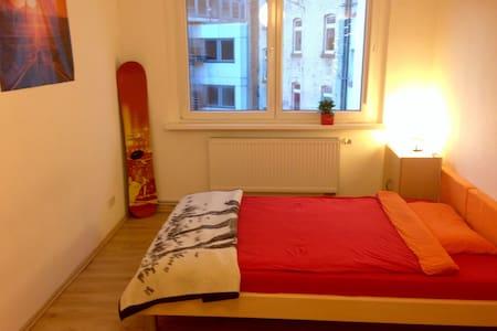 Nice room incl. bike next to Hbf - Mainz - Osakehuoneisto