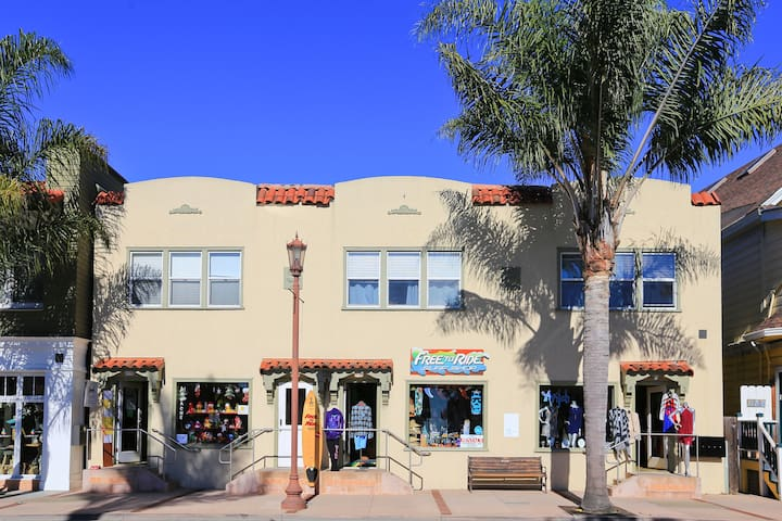 Great shopping in Capitola Village.
