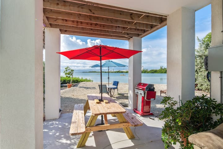 NEW Listing! Brand-new waterfront home on Stock Island w/furnished deck
