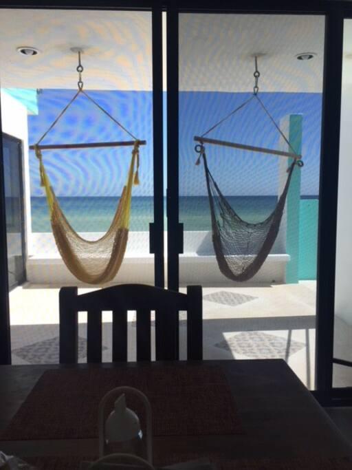Dining Room - Seated Hammocks Patio