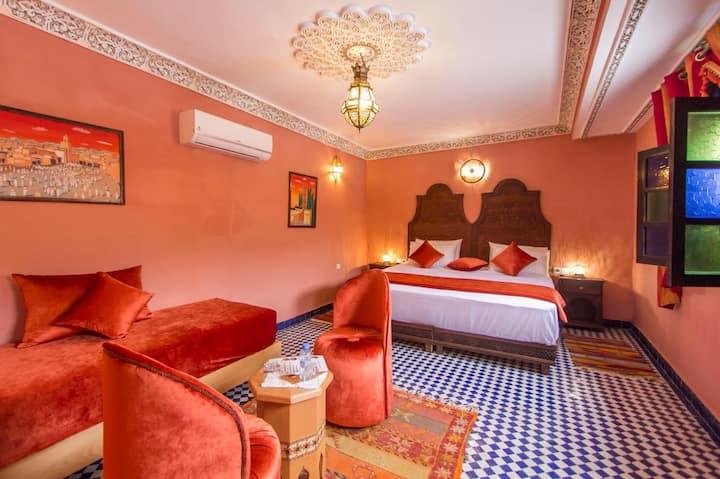 Quadruple Luxury Room Marrakech Dar Fes Tresor