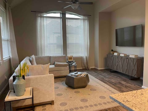 Modern 3 bedroom condo with attached garage