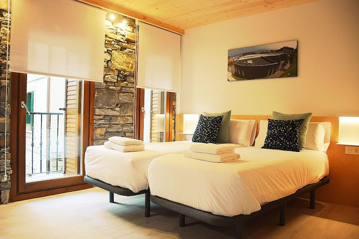 Agradable Habitación BOLINTXA en centro de Getaria