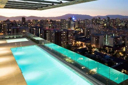 Apartamento Studio Piscina 815 - Santiago - Apartment