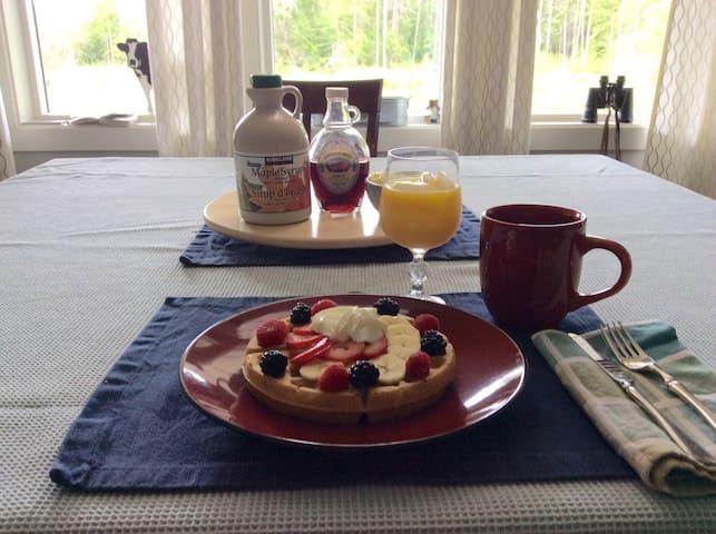 Breakfast & Private Room in Errington
