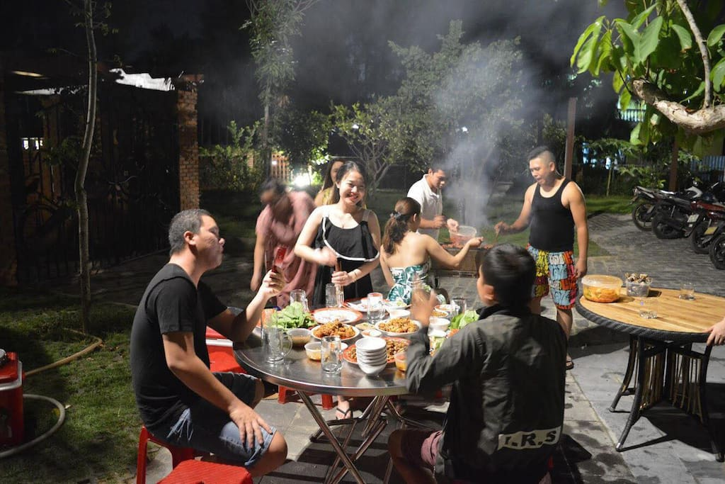 BBQ Gardern - Hoi An Residence Villa