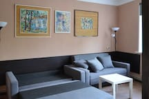 Art apartment in the historic center of the city