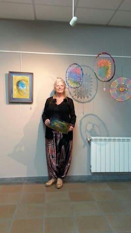 Casa de Artista,agua ,aire y bosque - San Hilari Sacalm - Pousada